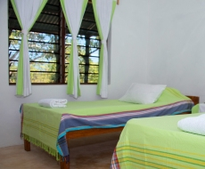 Bedrooms by the Indian Ocean